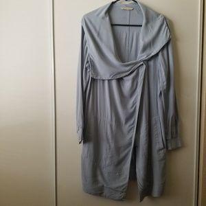 Soft Surroundings Rayon Wrap Style Jacket size M